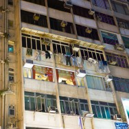 Chungking Mansions of Hong Kong, China.