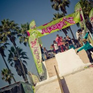 Supergirl Skate Competition Day Venice Beach LA 2011