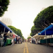 Santa Monica Farmers Market, LA