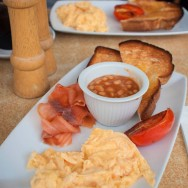 Sydney Breakfast - Thought we would treat ourselevs!