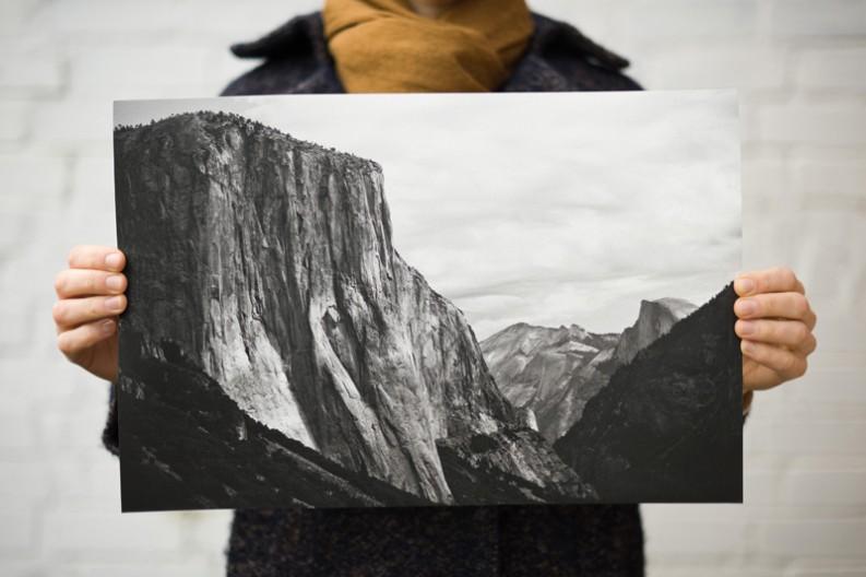 Canson Arches Aquarella Rag Yosemite National Park