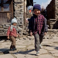 Nepalise Children